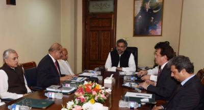 PM Shahid Khaqan briefed on new Islamabad Air Port project