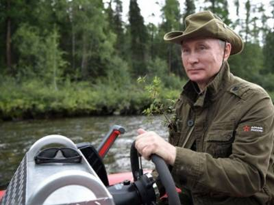 Vladimir Putin: Russia's strongman in action yet again