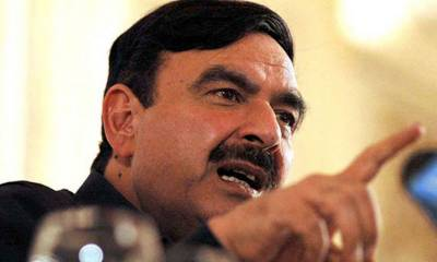 What message has been conveyed by making Mushahidullah a Minister again: Sheikh Rashid