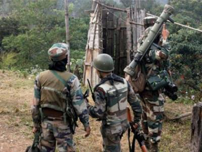 Indian Army large scale deployment at Chinese border