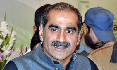 Railways Minister Saad Rafique hits hard at establishment in PML-N workers convention