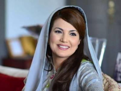 Reham Khan breaks silence over issue of Ayesha Gulalai