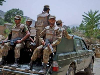 Security Forces destroy terrorists dens in an intelligence operation