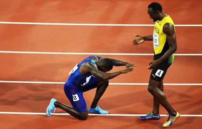 Usain Bolt lost last race of his life