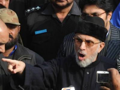Dr Tahir ul Qadri hints at grand Dhrana in Lahore