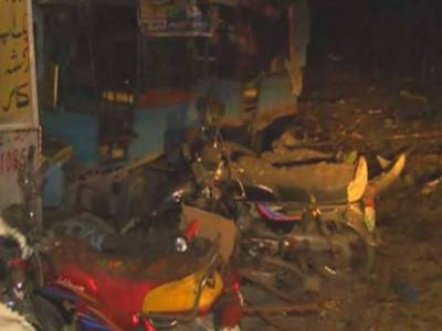 Lahore Blast: Nearby building collapses
