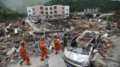 Strong earthquake shakes China's Sichuan
