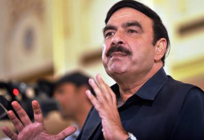 Sheikh Rashid mocks and ridicules Nawaz Sharif Rally