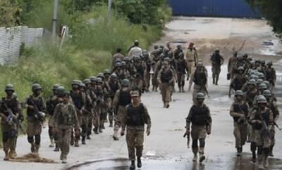 Pakistan Army busts terrorists den in North Waziristan