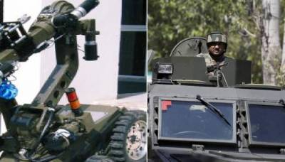 Indian Army will use Robots in Occupied Kashmir to fight freedom fighters