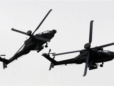 UAE Military helicopter shot down in Yemen, 4 soldiers killed