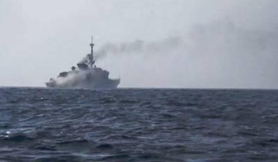 UAE warship hit by Yemeni Navy off coast Mukha port