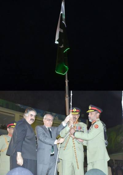 -Azadi Parade held in Bugti Stadium Quetta
