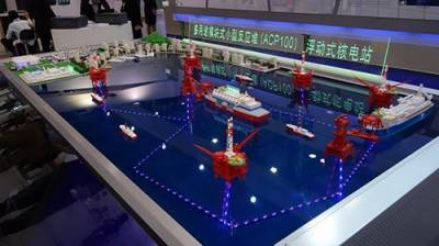 China to build 20 maritime floating power stations