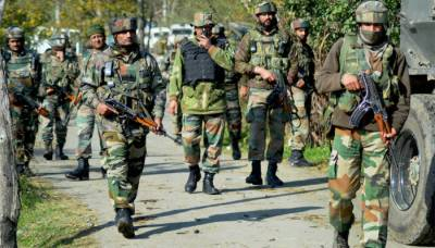 Indian Army 4 soldiers critically injured with grenades in occupied Kashmir