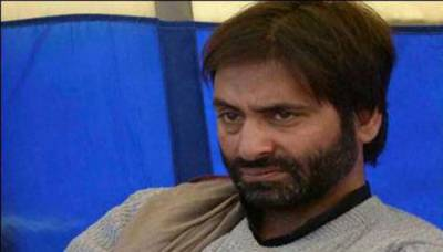 Yasin Malik arrested by Indian Army for celebrating Pakistan independence day in occupied Kashmir