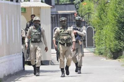 APHC protests against raids on Hurriyat leaders houses