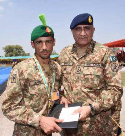COAS visits final ceremony of 6th Army PACES competition