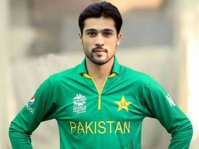 Pakistani fast bowler Mohammad Amir honoured for his performance in English County