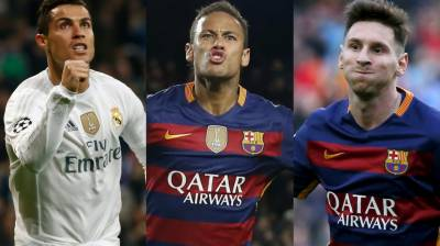 Ronaldo, Messi or Neymar: Who will be the best FIFA Player of 2017