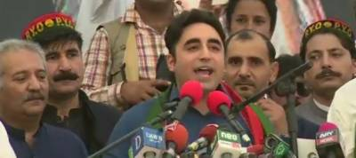 Bilawal Bhutto lashes out at Imran Khan in Mansehra Jalsa