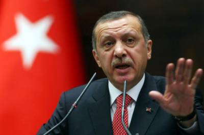 Tayyip Erdogan first official response to the political change in Pakistan