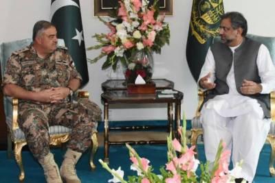 Jordan Military Joint Staff Commander calls on PM Shahid Khaqan