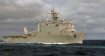 US Navy warship dock at Goa Port amid Indian standoff with China