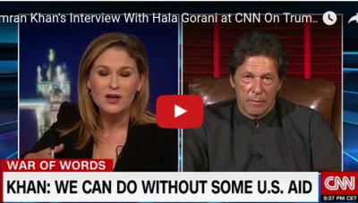 VIDEO: Imran Khan interview with CNN