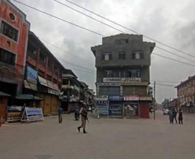 Complete shutdown in occupied Kashmir against martyrdom of three young boys