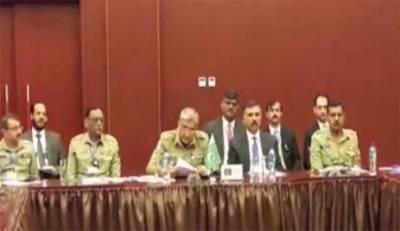 PakAfghan Armies sign anti terror cooperation accord