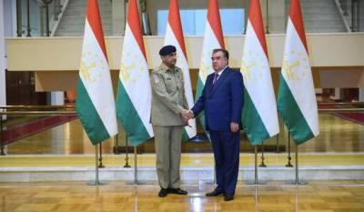 Tajikistan President lauds Pakistan Army role in bringing regional peace