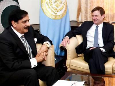 US Ambassador takes a U-Turn on Trump's Pakistan Policy in meeting with NSA Janjua