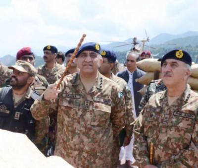 Army Chief arrives in Balochistan on second day of Eid