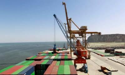 Gwadar Port cargo handling capacity greatly enhanced with new equipment