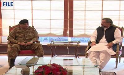PM-COAS hold one on one meeting at PM House, Islamabad