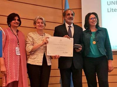 Citizens Foundation of Pakistan wins UNESCO Confucius prize at Paris