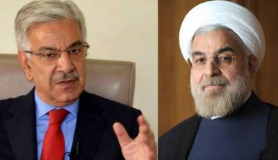 Pakistan FM calls on Iranian President Hasan Rouhani