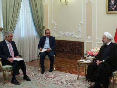 Pakistan - Iran vow for united stand on Afghanistan issue