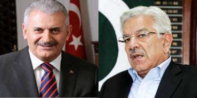Pakistan Foreign minister calls on Turkish PM