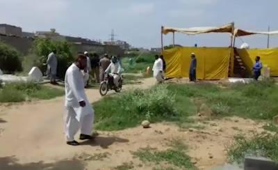 Jirga electrocuted love marriage couple in Karachi