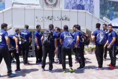 Suicide blast at the Kabul cricket stadium gate during Afghan cricket league match