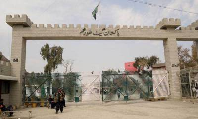 Pakistan - Afghanistan Torkham border opens for trade
