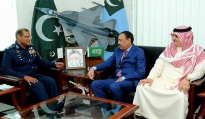 Saudi assistant defence minister vows to stand with Pakistan in any hour of need