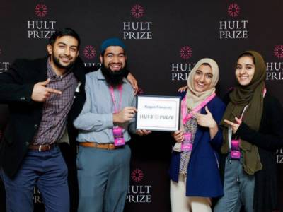Four Pakistani American students win prestigious $1 million Hult Prize in US