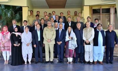 I felicitated CM Shahbaz Sharif on Kulsoom Nawaz victory: COAS