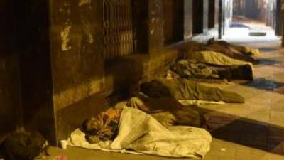 17 Lakh Indians sleep on streets at night daily: Indian Media