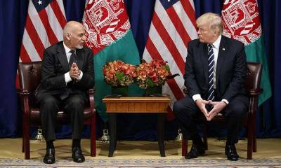 Abolishing militant hideouts in Pakistan critical for peace in Afghanistan: Ashraf Ghani