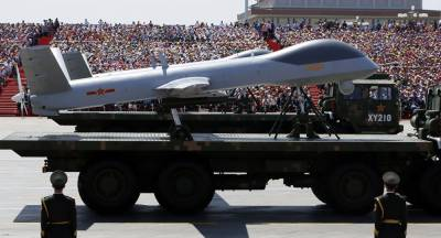 China unveiled new armed reconnaissance drones