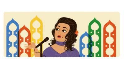 Google pays tribute to Madam Noor Jehan